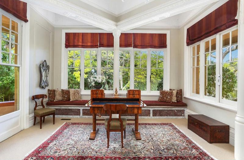 """The more intimate lounge room, dubbed the """"Lady Mayoress"""" room in the 1930s"""