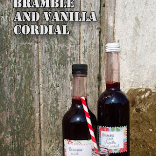 Bramble and Vanilla Cordial