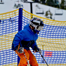 by Victoria Eversole - Sports & Fitness Snow Sports ( squaw valley, children skiing, california adventures, skiing lessons, sports photography )