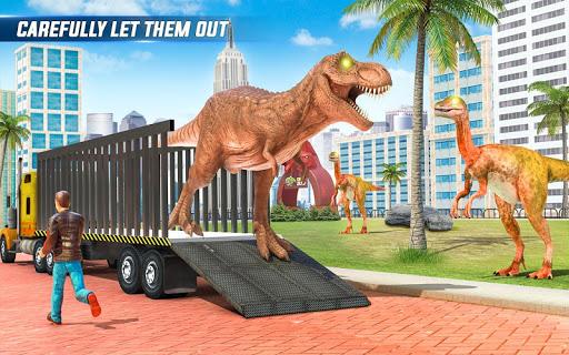 Angry Dino Zoo Transport: Animal Transport Truck 27 screenshots 7