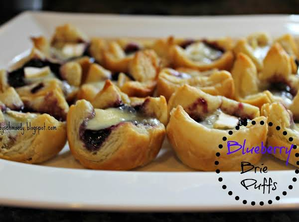 Blueberry Brie Puffs Recipe