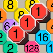 2048 Cell Connect Puzzle