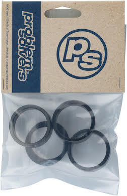 Problem Solvers Headset Stack Spacer - 3mm (1), 5mm (1), 10mm (3), Aluminum, Assorted 5 Piece Kit alternate image 4