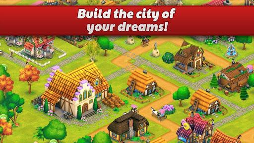 Town Village: Farm, Build, Trade, Harvest City  screenshots 2