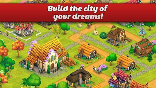Town Village: Farm, Build, Trade, Harvest City 1.7.4 (Mod)