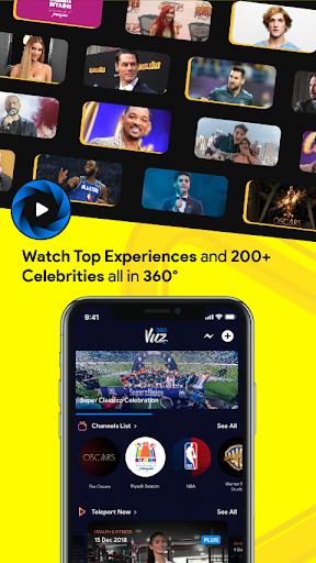 360VUZ - Live Stream 360u00b0 VR Video App 4.6.7 screenshots 1