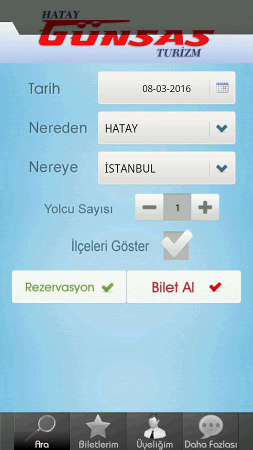 Hatay Günsas Turizm- screenshot