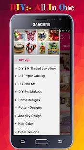 DIY App - náhled