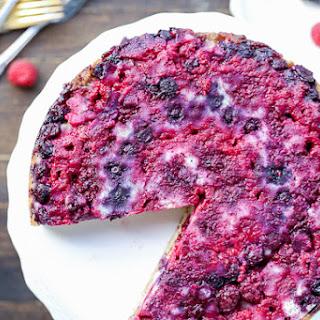 Berry Upside Down Cake.