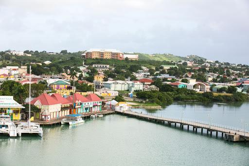 antigua-port.jpg - The colorful port of St. John's, capital of Antigua.