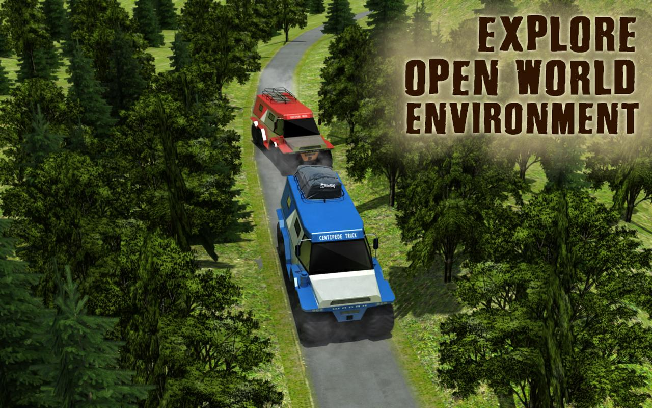 8 Wheeler Russian Truck 3D Sim- screenshot