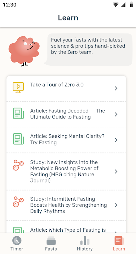 Zero - Fasting Tracker screenshot 6