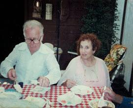 Photo: Ernest Loewnstein and Mynette Heyman
