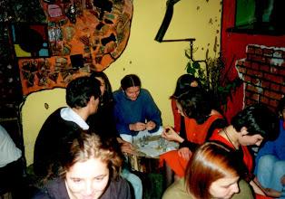 Photo: Kafeja w internacie 1985