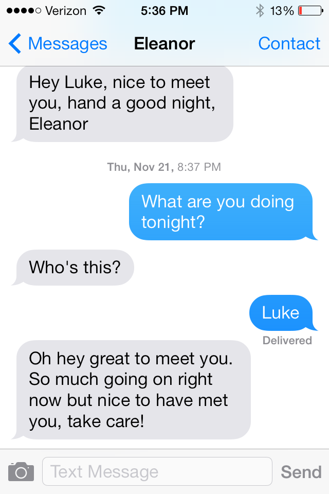 funny text messages from ex