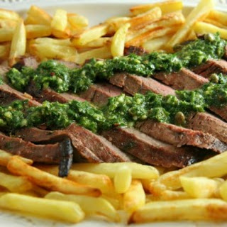 Steak Frites with Chimichurri Recipe