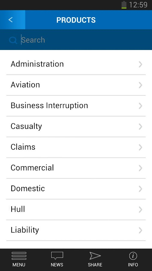 Steadfast Agencies App- screenshot