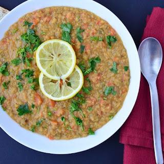 5 star Lentil Lemon Soup