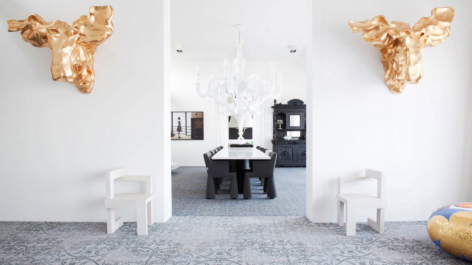 Salah satu proyek interior karya Marcel Wanders - source: marcelwanders.com