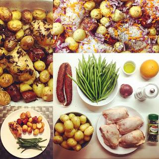 Chicken, Chorizo & Potatoes