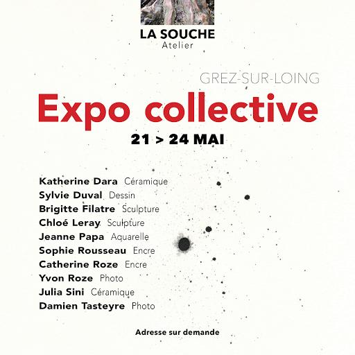 expo 10 artistes à Grez sur LoingJeanne PAPA
