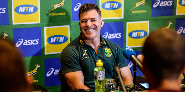 Springbok Schalk Brits will play at No8 against Namibia