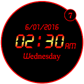 LED Minimal Clock Live WP