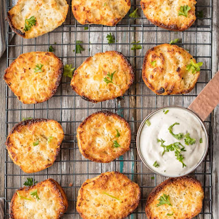 Easy Ranch Dip Biscuits.