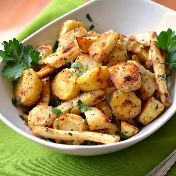 Roasted Parsnips Are A Flavor Packed Easy Side That Comes Together In A Matter Of Minutes.