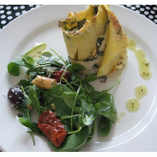 Lasagna - Spinach Rolls