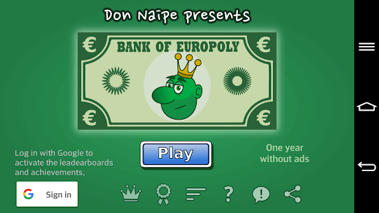 Europoly- screenshot thumbnail