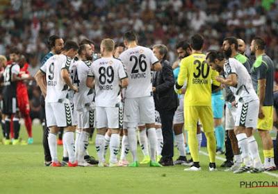 """Konyaspor encense Gand: """"Stade fantastique, superbe pelouse et très bonne équipe"""""""