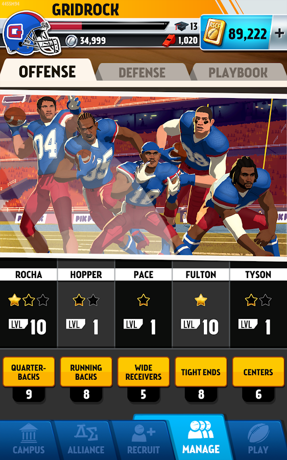 Rival Stars College Football- screenshot