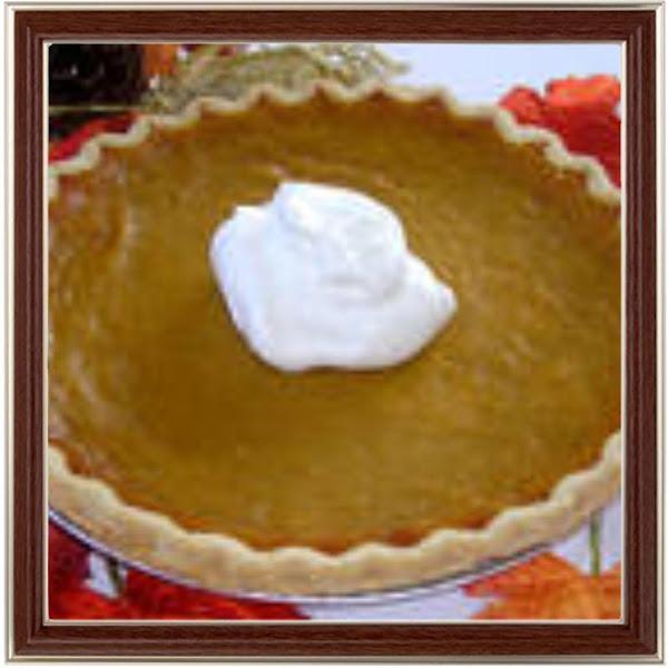 Apple Butter-pumpkin Pie Recipe