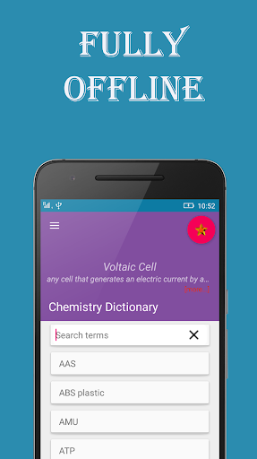 Chemistry Dictionary 1.0.6 screenshots 1
