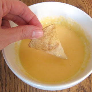 Microwave Nacho Cheese Dipping Sauce.
