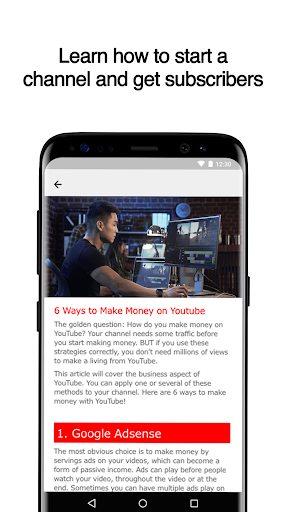 Guide for YouTube Channels 2.7 screenshots 2