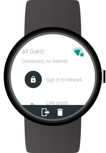 Wi-Fi Manager for Wear OS (Android Wear) screenshots 6