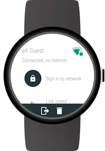 Wi-Fi Manager for Android Wear- screenshot thumbnail