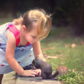 Just Nuts Over You by Shaun Poston - Babies & Children Toddlers ( babies, magical, children, kids, toddlers, squirrel )