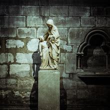 Photo: Statue in Notre Dame