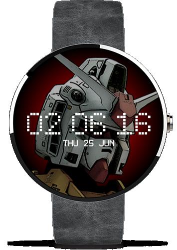 Nano Gundam ガンダム Watch Face