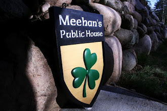 """Photo: Carved Sign Atlanta GA """"Meehan's Public House"""" See More at www.nicecarvings.com"""