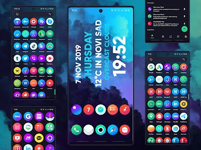 Hera Icon Pack – Circle Icons v5.1 [Patched] 2