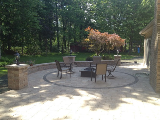 Backyard View paver patio installation in cleveland ohio | view our work