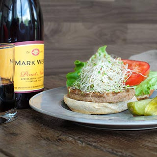 Mark West Grilled Turkey Burgers