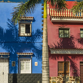 Tenerife Homes by Adele Price - Buildings & Architecture Homes ( 2 colours, architecture,  )