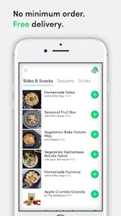 dahmakan healthy food delivery- screenshot thumbnail