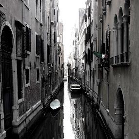 Venice by Cristiana Chivarria - Travel Locations Landmarks ( venice, boat, canal )