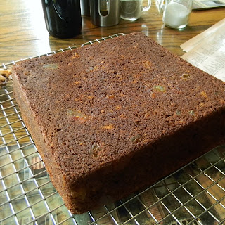 Amazing Spice Cake with Candied Watermelon Rind